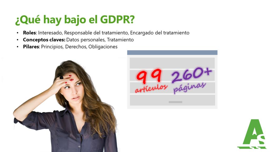 Cumplimiento Ley Orgánica de Protección de Datos